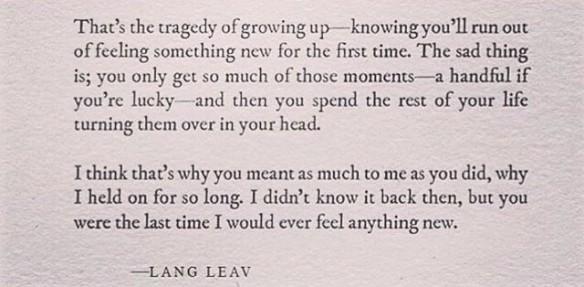 lang leav